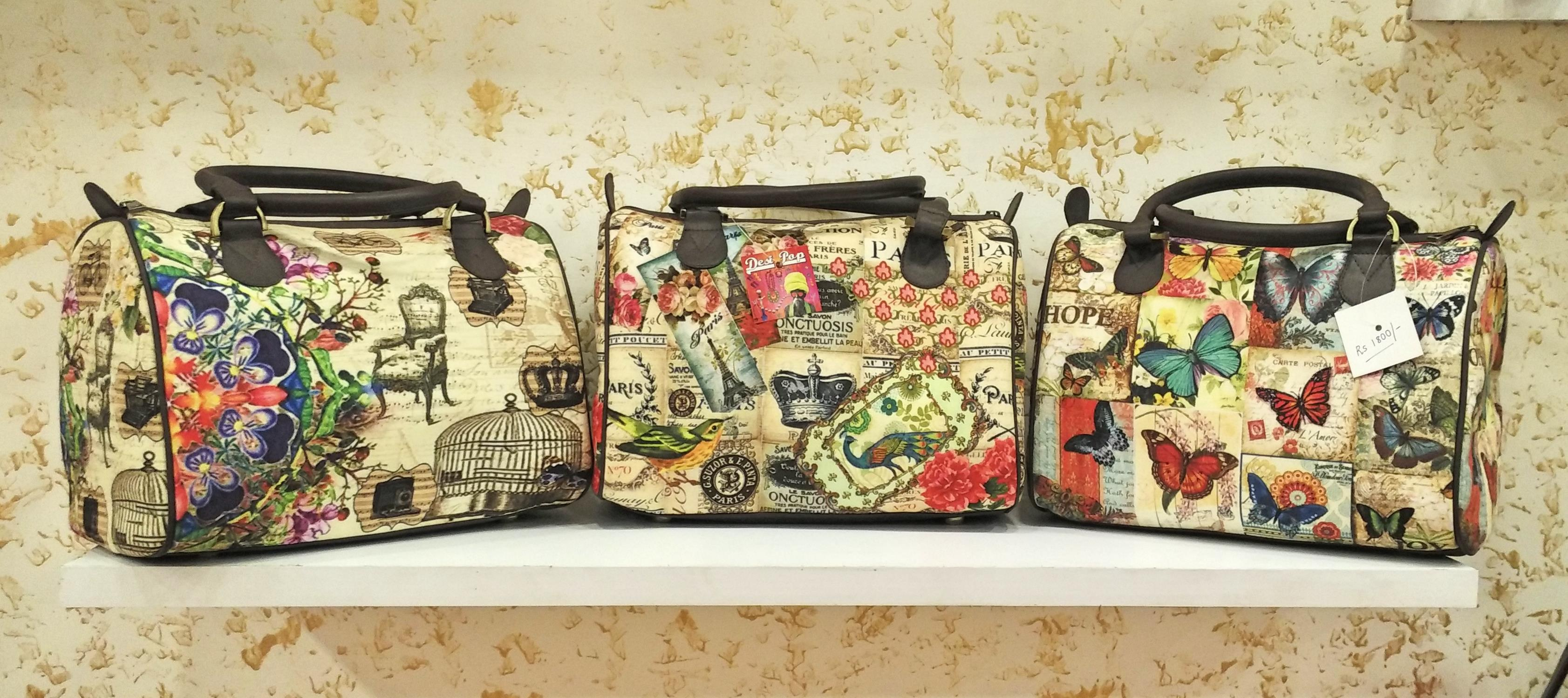 Desi Pop DLF Store Bags Collection