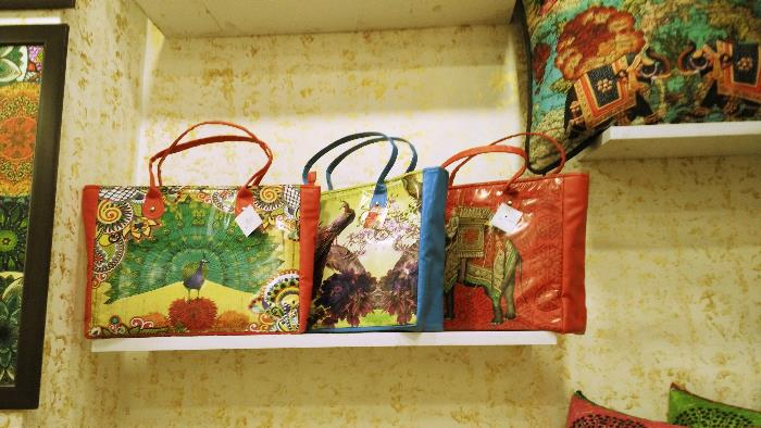 Desi Pop Printed travel Bags