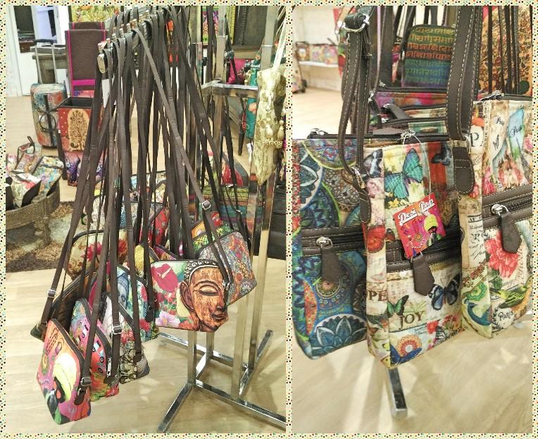 Desi Pop Sling bags printed
