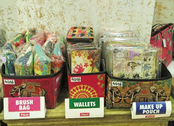 Desi Pop Wallets, Makeup Pouches and more