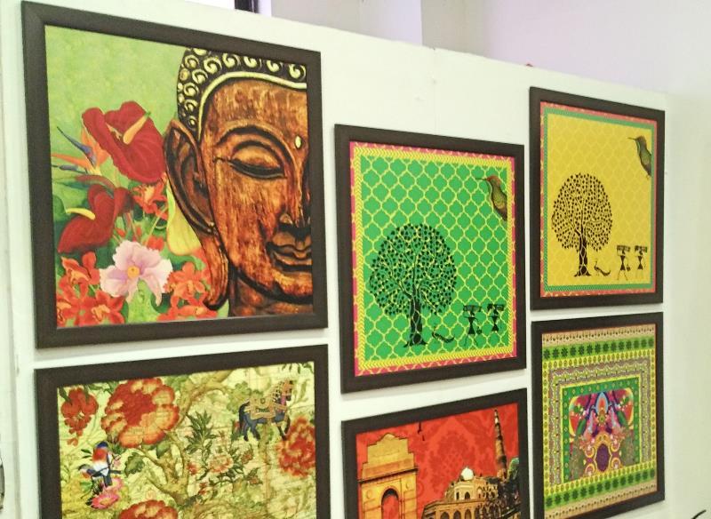 Desi Pop paintings