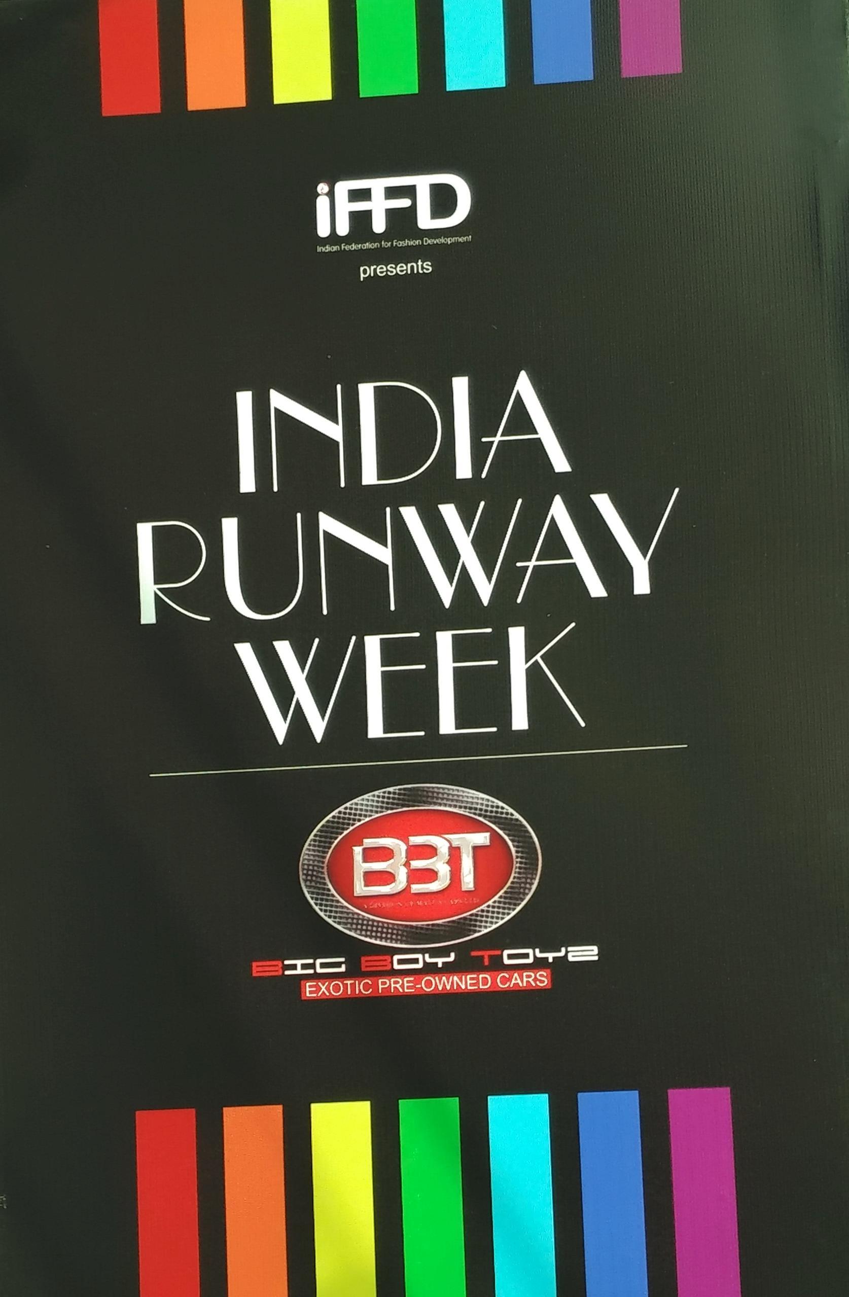 Iffd India Runway Week