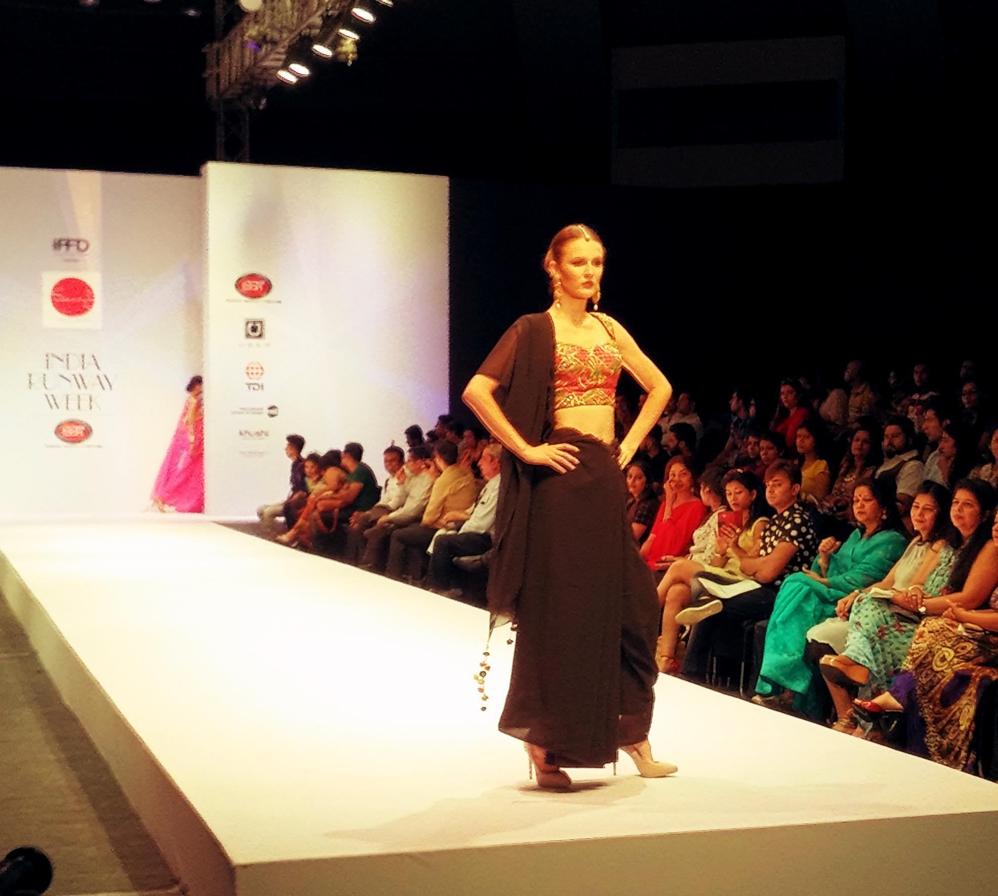 Models at Ramp India Runway Week 2
