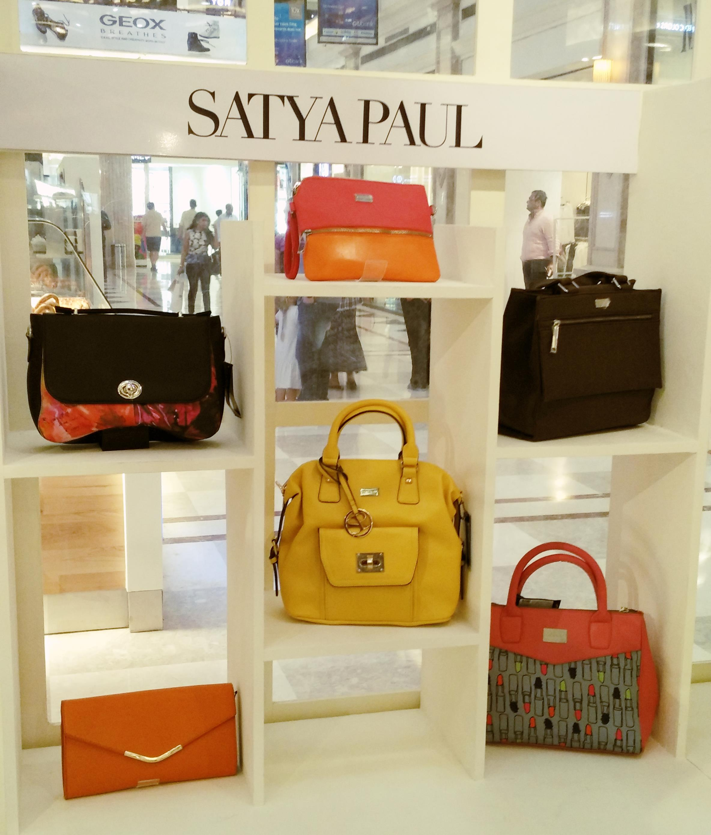Satya Paul at Shoes and Bag Festival