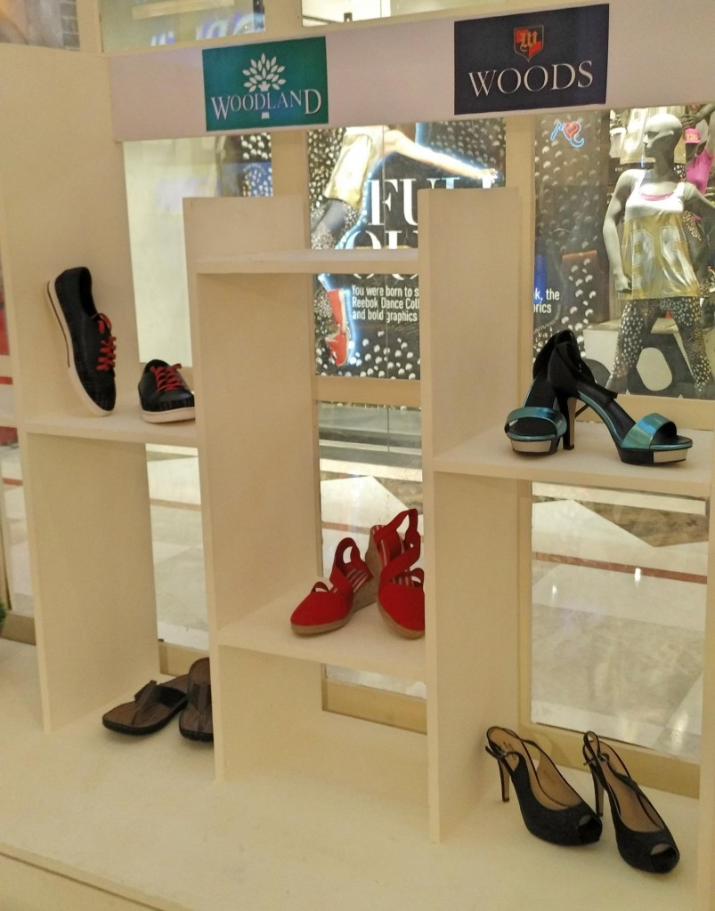 Woods and Woodland at Shoes and Bag Festival