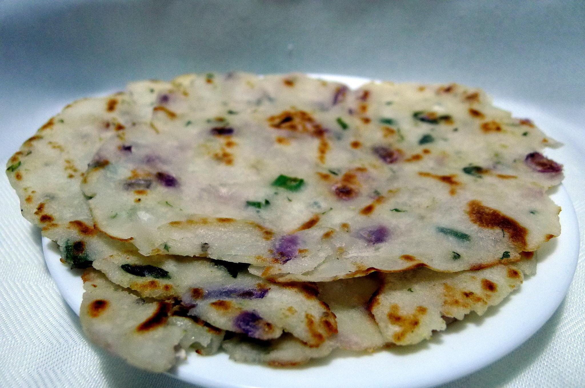 Akki Roti Street Food India