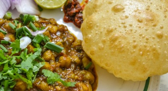 Chole-Bhature-Street Food India