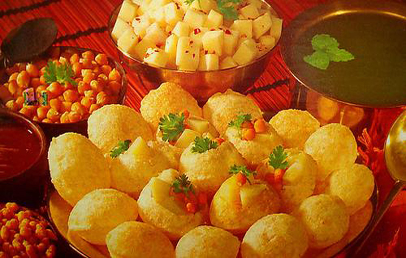 GolGappa Pani Puri India Street Food