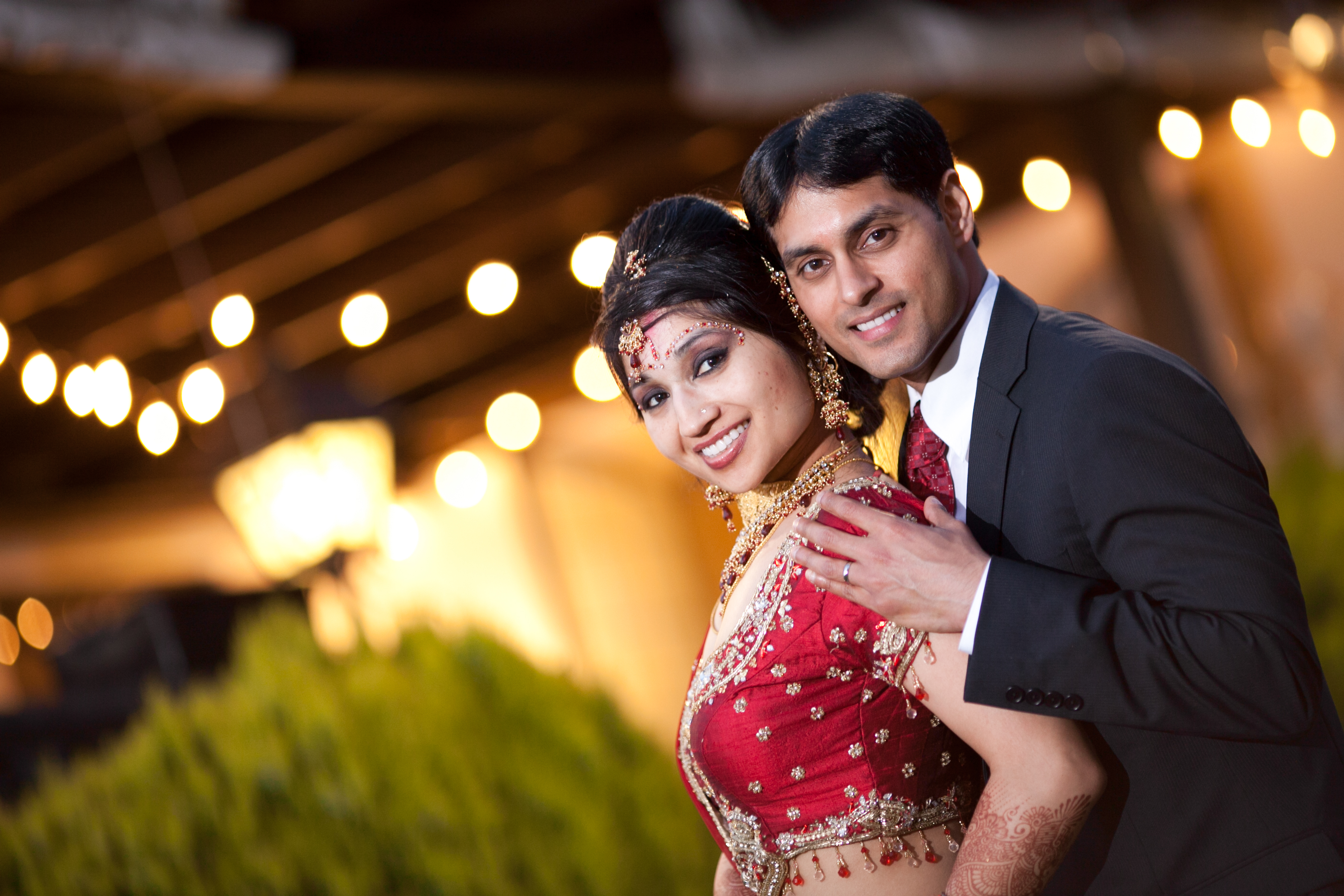 Photography of Indian Wedding Couples