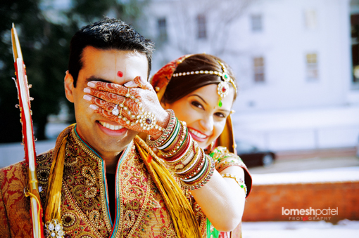 Poses Ideas for Indian Wedding Portrait