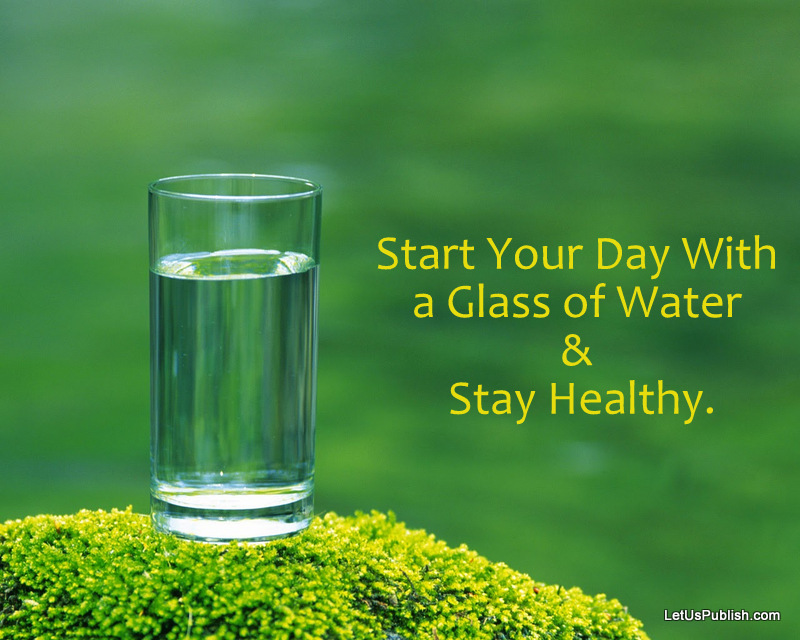A Glass Water In Morning Health & Fitness Wallpaper