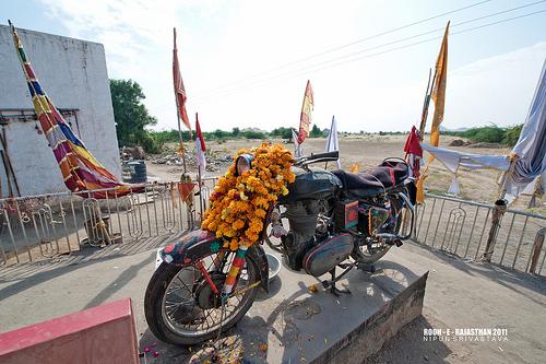 Bullet Baba - Jodhpur travel pics