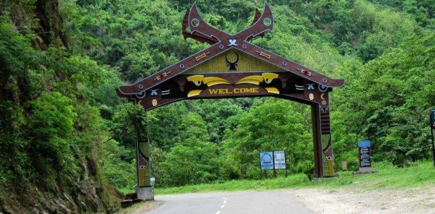 Nagaland gate