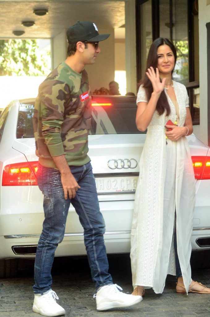 Ranbir Kapoor, Katrina Kaif Together at Christmas Mumbai