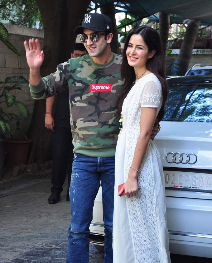 Ranbir Kapoor, Katrina Kaif Together at Christmas