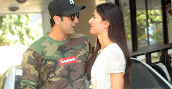 Latest Photo Ranbir Kapoo & Katrina Kaif Together
