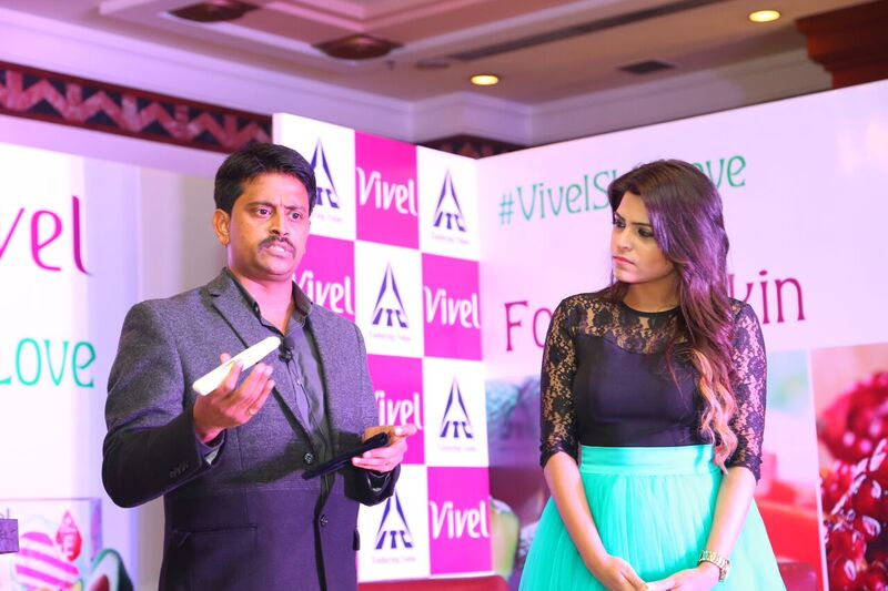 Skin Nourishment Test At Vivel Event Delhi Bloggers Meet