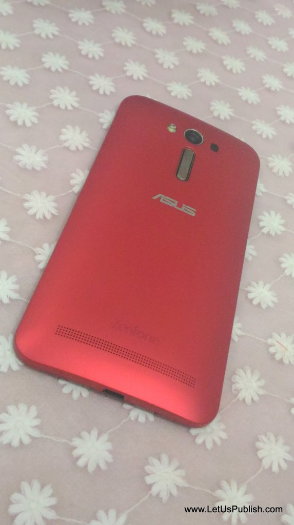 Asus Zenfone 2 Laser Design from back
