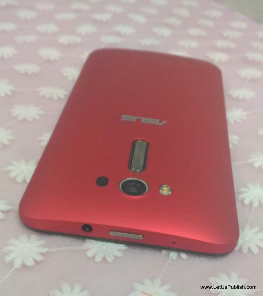 Asus Zenfone 2 Laser design from top