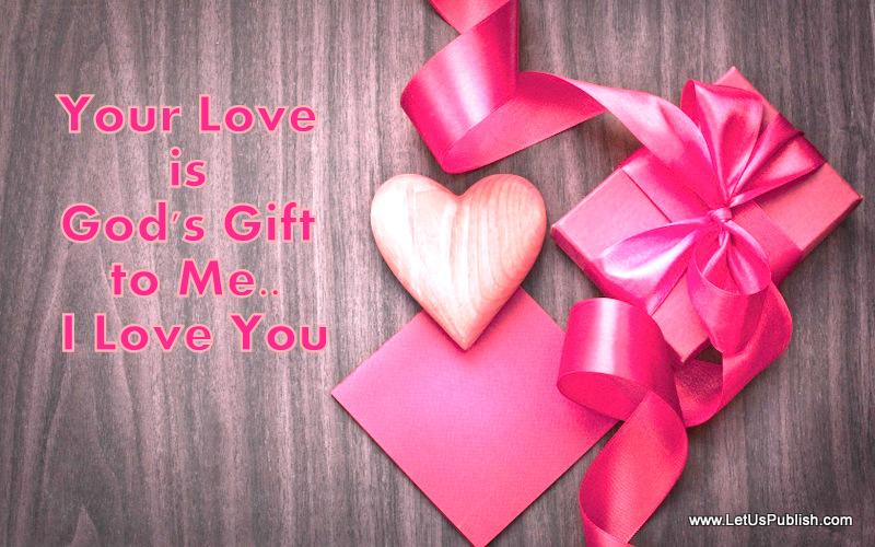 Beautiful Love Quote Image Wallpaper for Valentine's Day