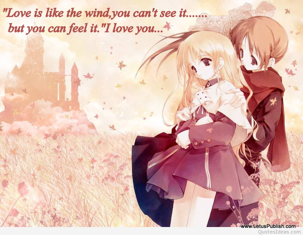 Cute love hd image with quote