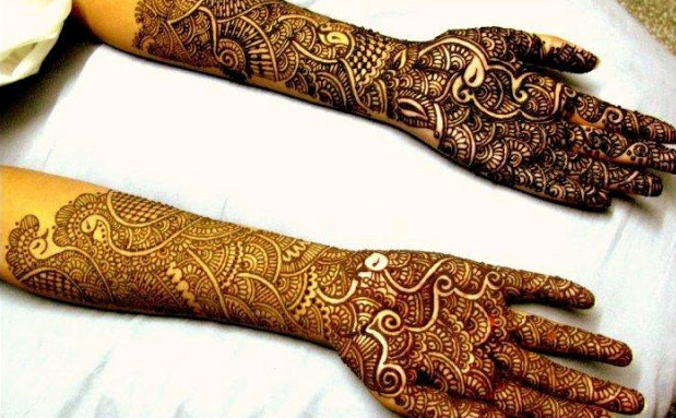 Full-arm-mehndi-design