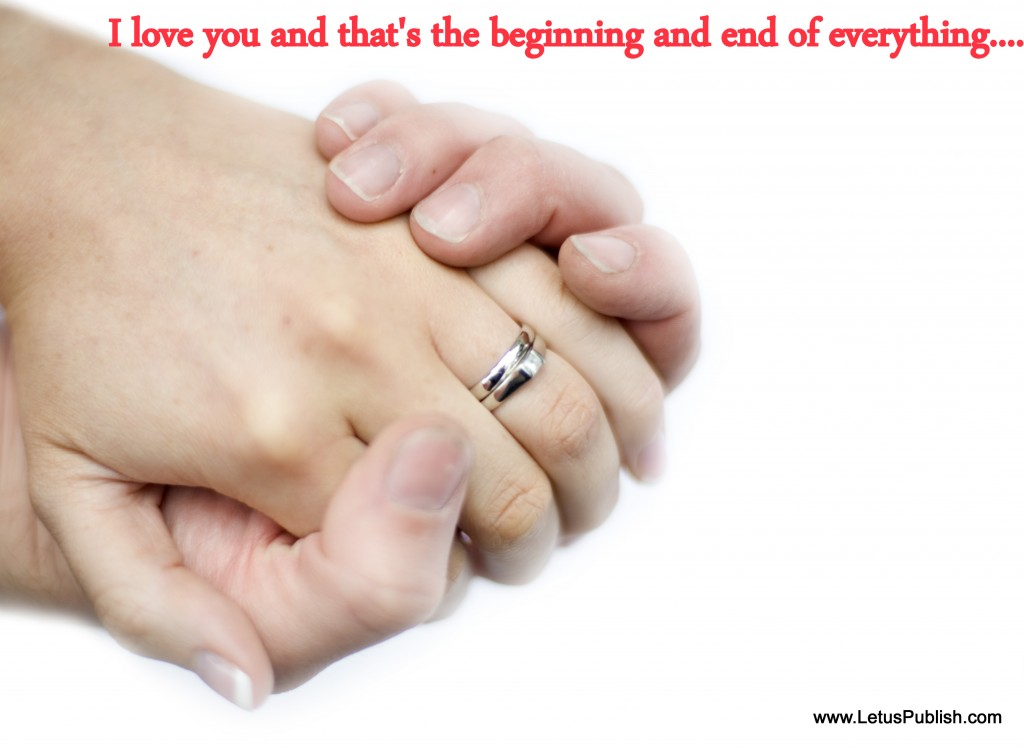 Romantic love couples Hd wallpaper with quotes