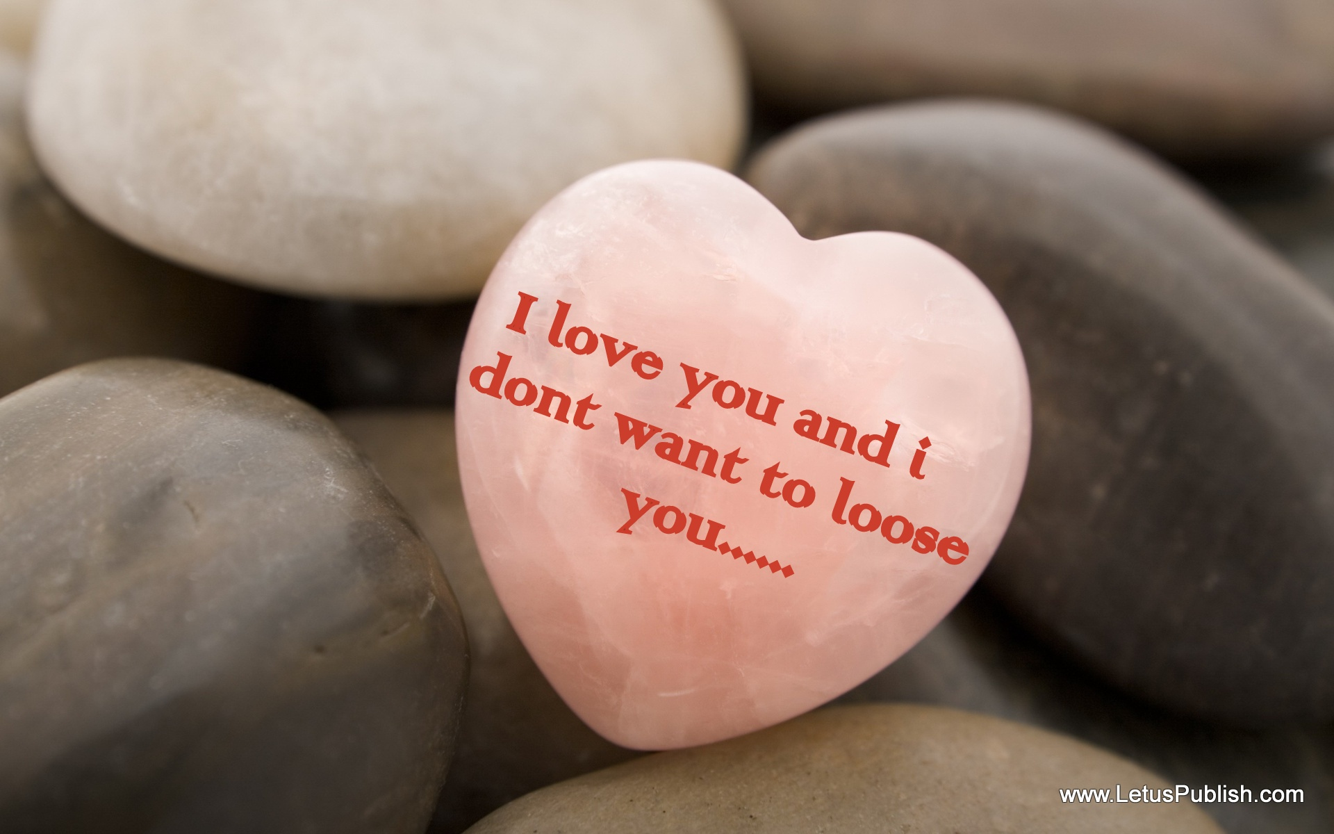 I love you hd wallpaper with quotes