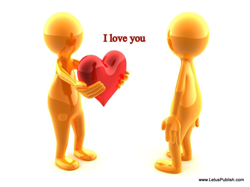 Romantic Cute I love You Image