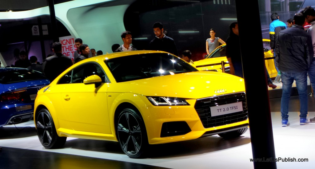 Audi Car at Auto Expo 2016