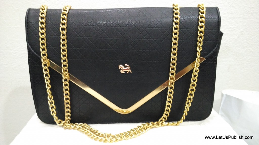 Black Sling Bag from StelaToes