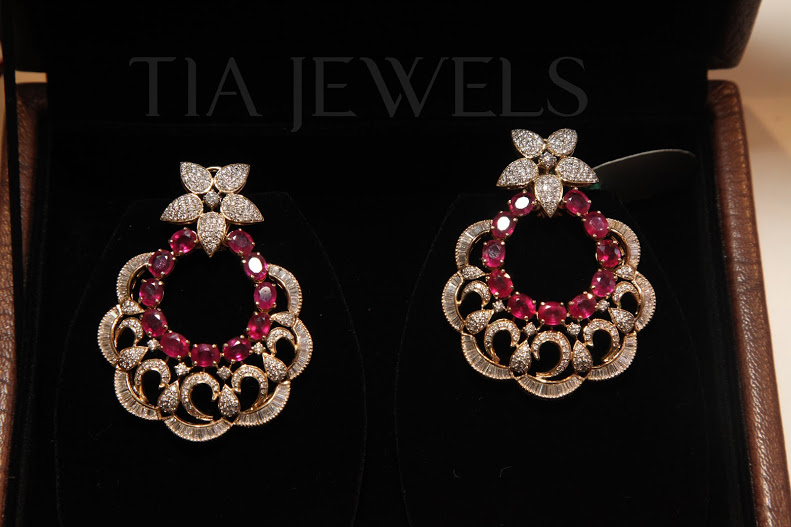 Diamond Chand Bali Style Earings Latest Trend