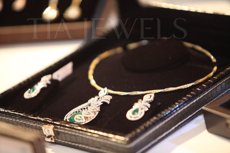 Diamond Jewelery Set latest design from Tia Jewels