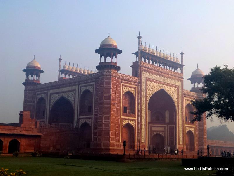 Entry Taj Mahal Pics