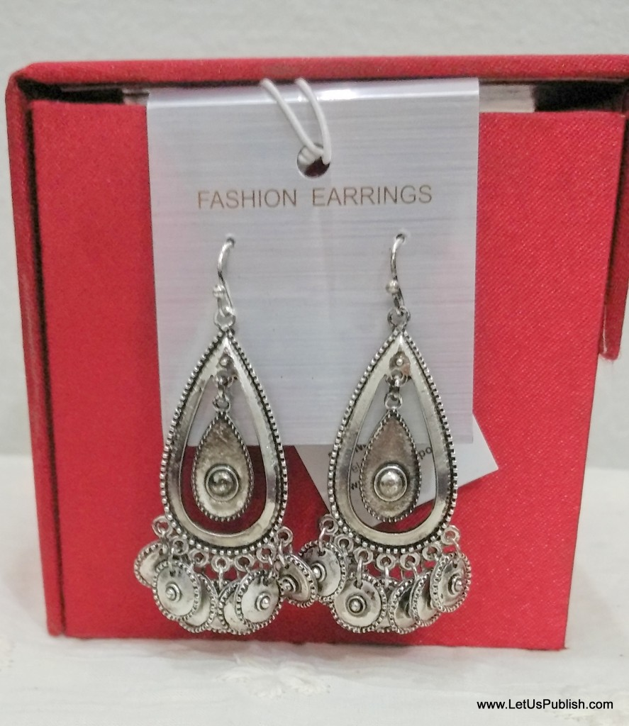 Feb Shopping Haul - Silver Earings to rock any Ethnic Look