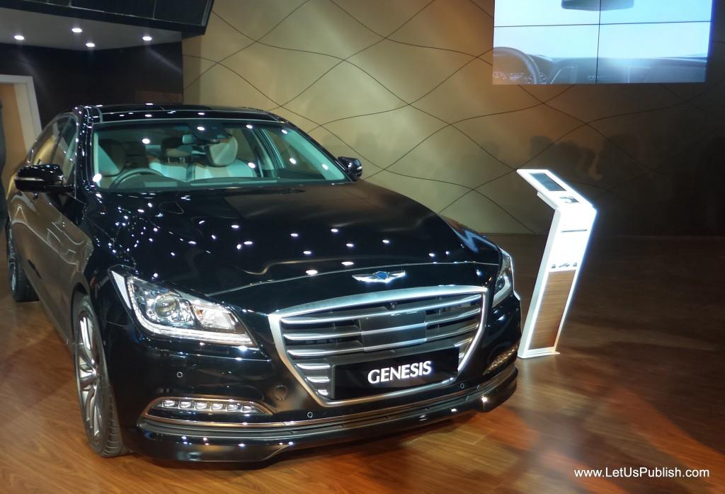 Genesis Later car