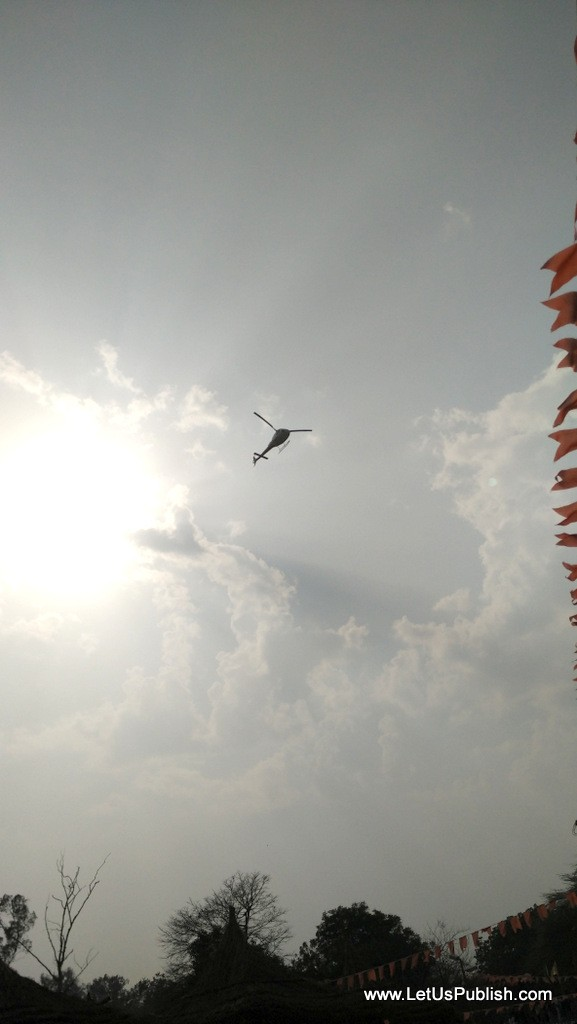 Helicopter ride at Surajkund Mela Pictures 2016.jpg
