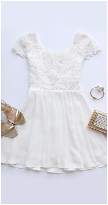 Latest Fashion trends - Little White Dress LWD