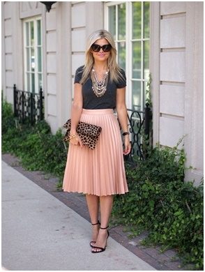 Latest Fashion trends - pleated skirts