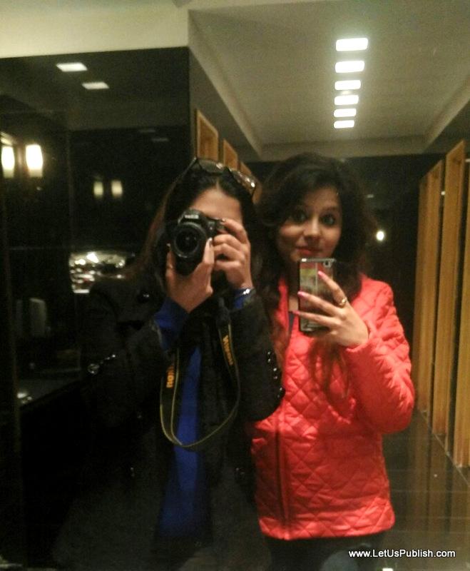 Me and Jasmeet , Bloggers Selfie