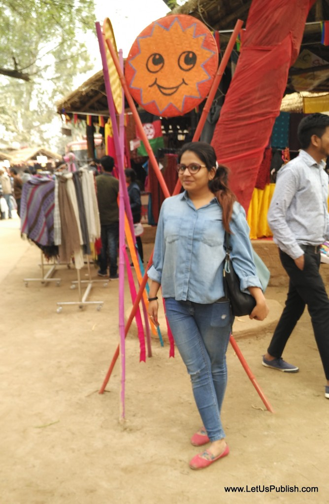Me at Surajkund Fair
