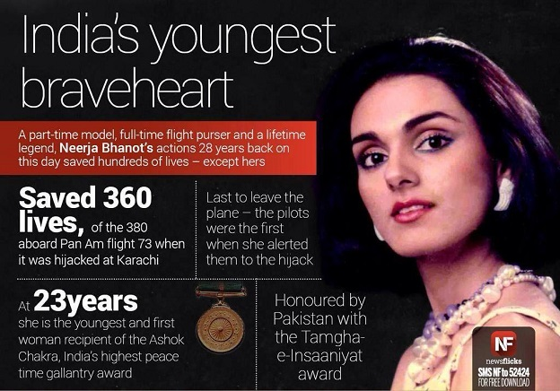 Neerja Real Super Hero