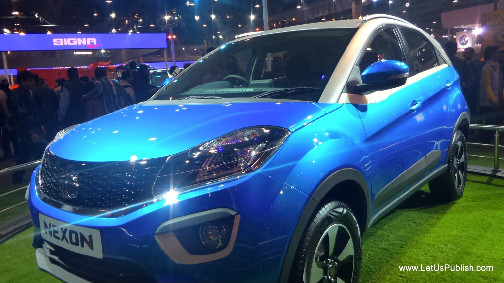 Tata Nexon Car pics from auto expo 2016
