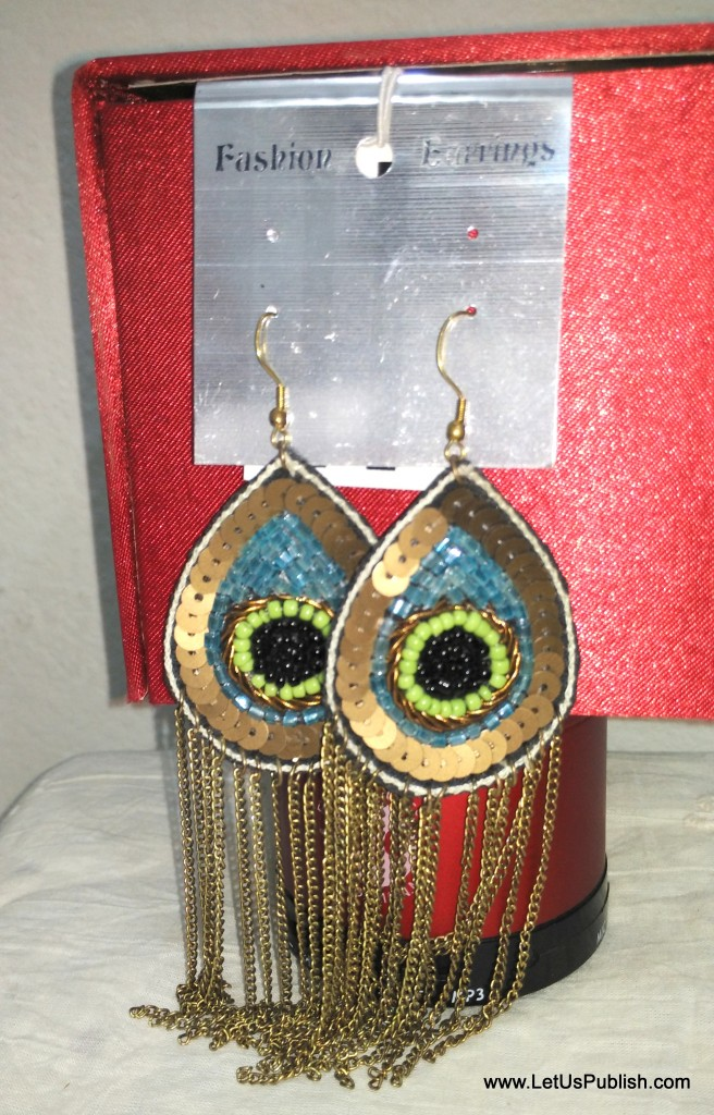 Peacock earings latest design