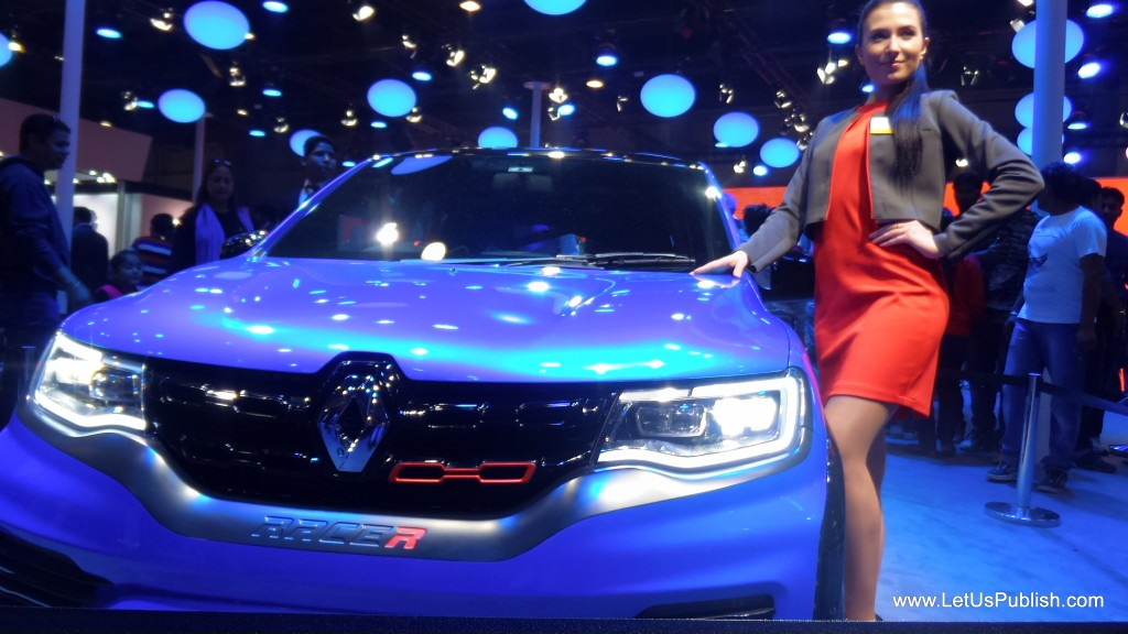 Renault Razer at auto expo 2016