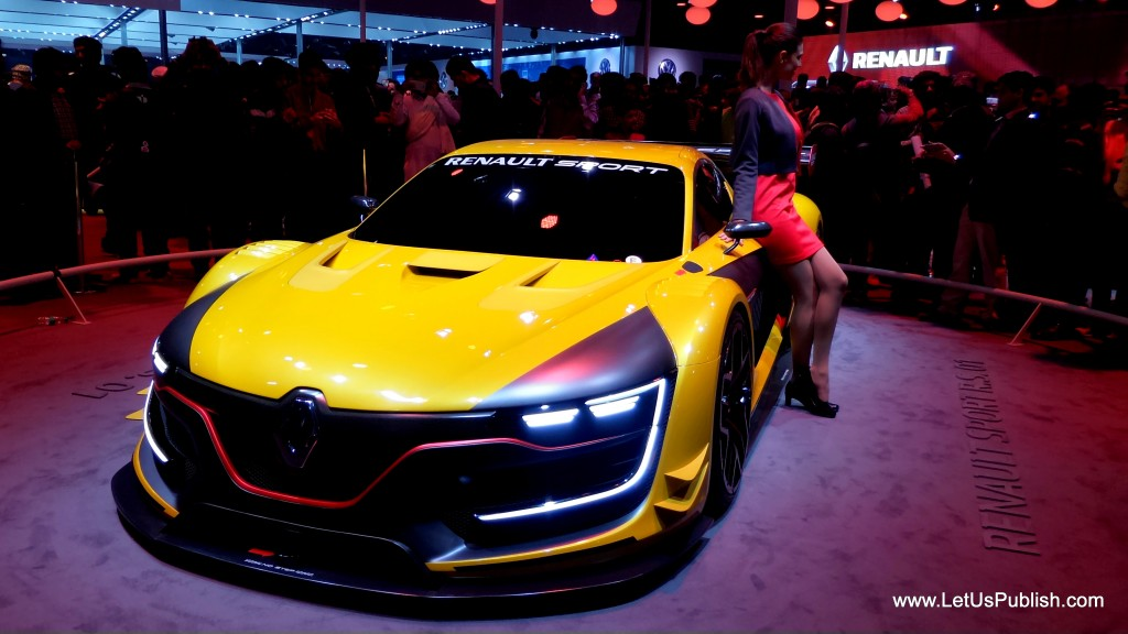 Renault Sports car, Concept car pics from auto expo