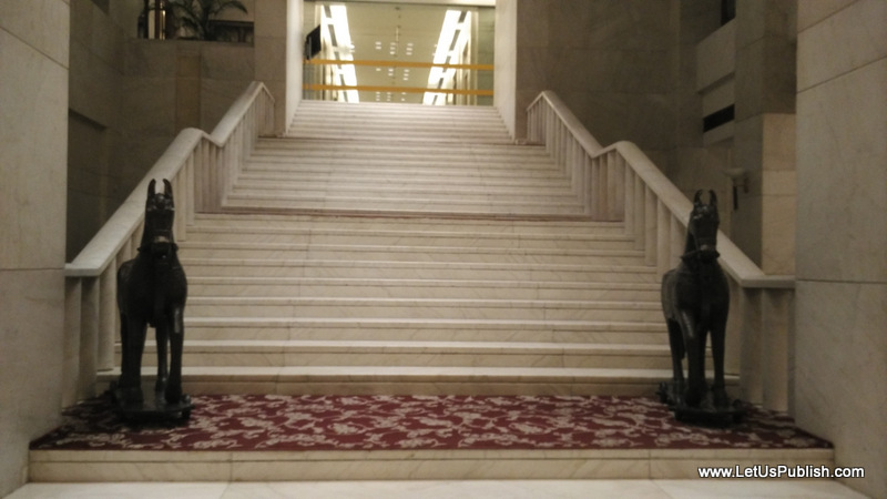 Stairs Hotel Jaypee Agra Pictures