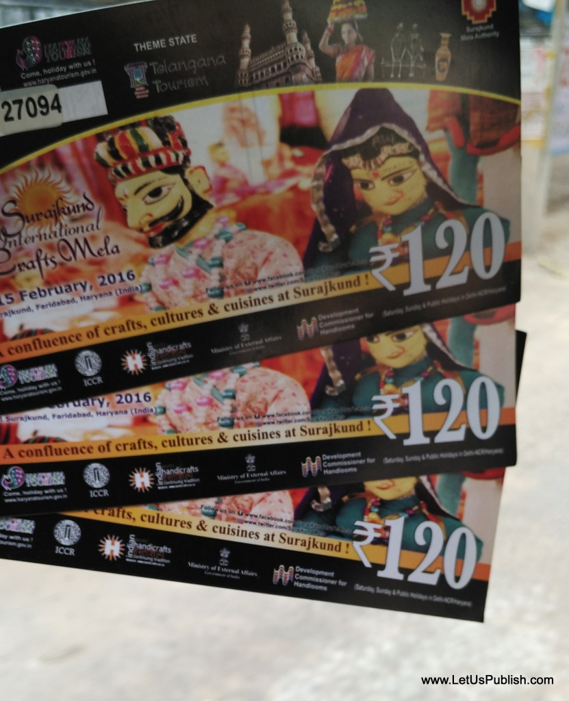 Surajkund Mela Tickets