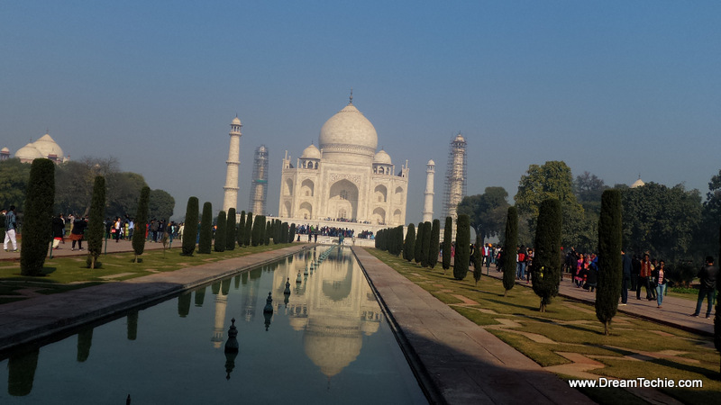 Taj Mahal Clicked with Zenfone Zoom - Photography