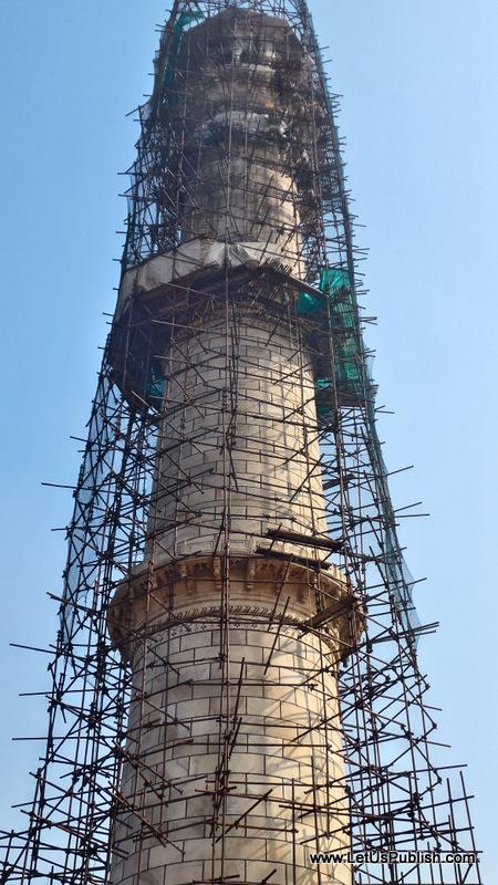 Under Maintenance Taj Mahal